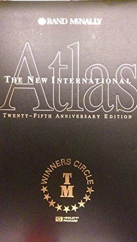 The New International Atlas 25th Anniversary Edition: Rand, McNally: