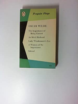 Plays. (The Importance of Being Earnest, An: Wilde, Oscar: