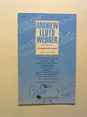 Andrew Lloyd Webber In Concert.: Lojeski, Ed and