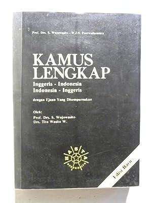 Kamus Lengkap. Inggeris-Indonesia , Indonesia-Inggeris.: Wojawasito, S. und