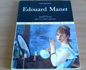 L opera pittorica di Edouard Manet: Venturi, Marcello: