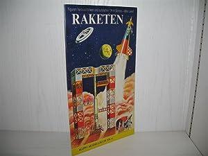 Raketen: Happy-Modellbuch: Nr. 12. Figuren herausdrücken und: N. a.: