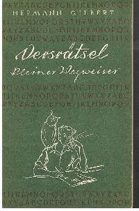 Versrätsel Keiner Wegweiser Von Hermann Zvab