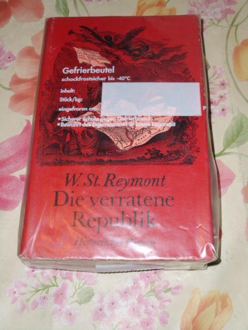 Die verratene Republik : histor. Roman Wladyslaw: Reymont, Wladyslaw Stanislaw: