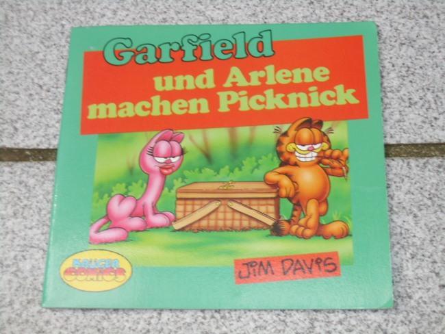 Garfield und Arlene machen Picknick. nach e. Idee von Jim Davis verf. von Tom Huge. Ill. von Mike Fentz, Krüger Comics