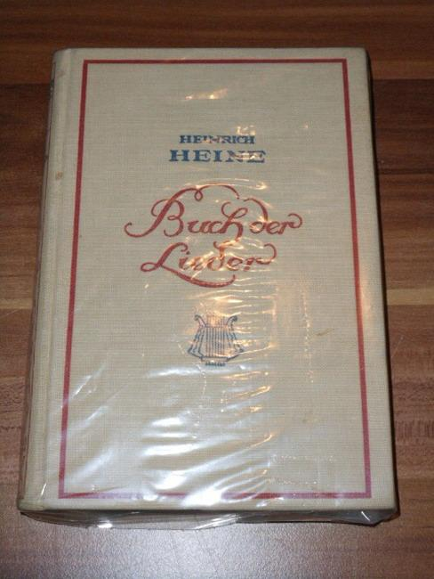 special section hot new products exquisite style Buch der Lieder. Heinrich Heine. Mit ...