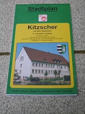 Stadtplan Kitzscher] Stadtplan, plan de ville, town