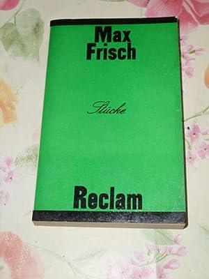 Stücke (Nun singen sie wieder, Graf Öderland,: Frisch, Max: