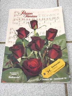 Rosen Tantau Herbst' 89, Frühjahr' 90 (Katalog)