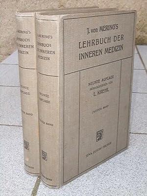 J. von Mering's Lehrbuch der inneren Medizin: Krehl (Hrsg.), L.: