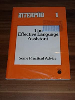 The effective language assistant : some practical advice. Interpäd ; Bd. 1