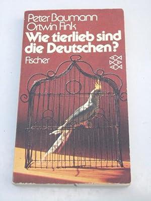 Wie tierlieb sind die Deutschen?. Peter Baumann: Baumann, Peter und