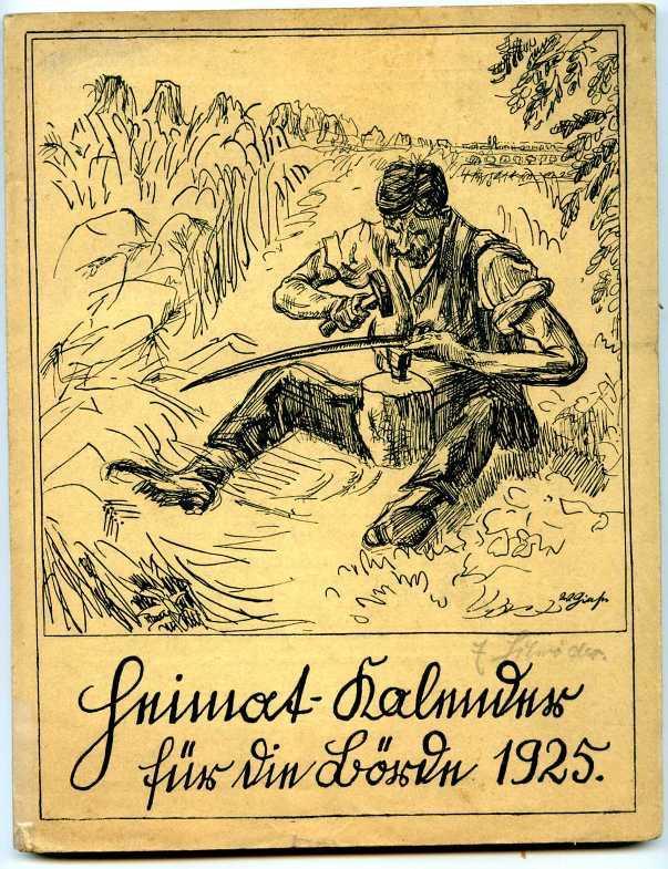Heimat-Kalender für die Börde 1925.: Sachsen - Anhalt