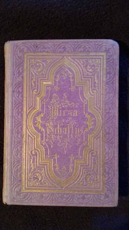 Die Lieder der Mirza-Schaffy mit einem Prolog.: Bodenstedt, Friedrich.