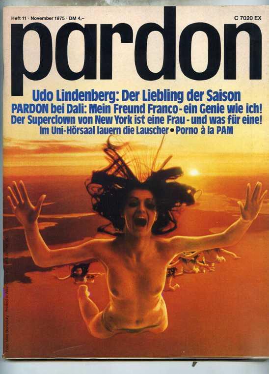 Pardon Von Westdeutsche Satire Zeitschrift Pardon Verlags Gmbh