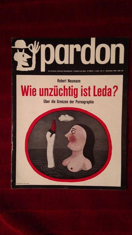 Pardon Die Deutsche Satirische Monatsschrift Von Westdeutsche