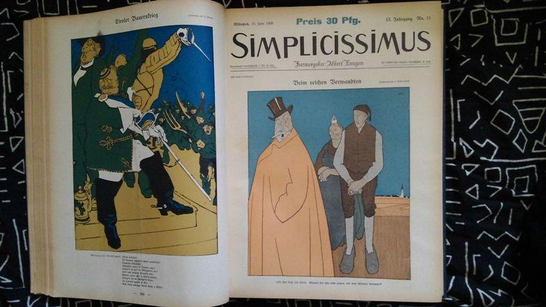 Simplicissimus: Langen, Albert ( Herausg. )