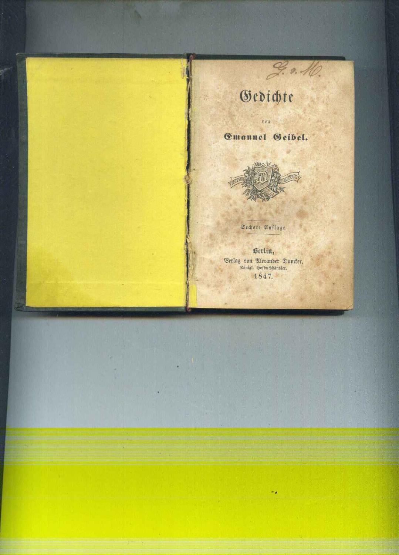 Gedichte Sechste Auflage