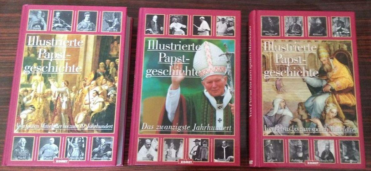 Illustrierte Papst-Geschichte ( 3 Bde., komplett ): Castella, Gaston
