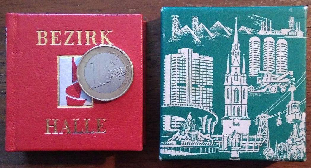 Bezirk Halle: Miniaturbuch