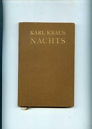 Nachts.: Kraus, Karl.