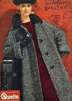 Quelle - Versandhaus-Katalog Herbst / Winter 1962/63.: Konsum - Werbung )