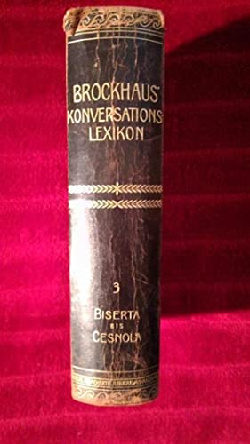 Brockhaus' Konversations-Lexikon. Vierzehnte vollständig neubearbeitete Auflage. Neue ...