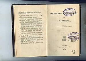 Die Schmarotzer des Thierreichs. Mit 53 Abbildungen in Holzschnitt.: Beneden, P. J. van.