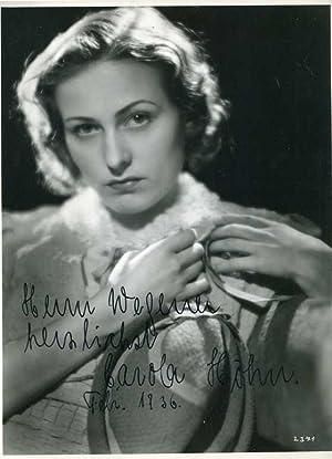 Carola Höhn ( 1910 - 2005 ). Signierte Fotografie.: Fotografie )