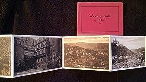Wernigerode. Leporello-Album mit 10 verschiedenen Ansichten im: Ostharz )