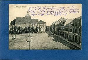Lautenburg. 1 alte Orig.- Ansichtspostkarte.: Westpreussen