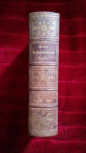 Meyers Konversations-Lexikon. Eine Encyklopädie des allgemeinen Wissens.: Band 11 )