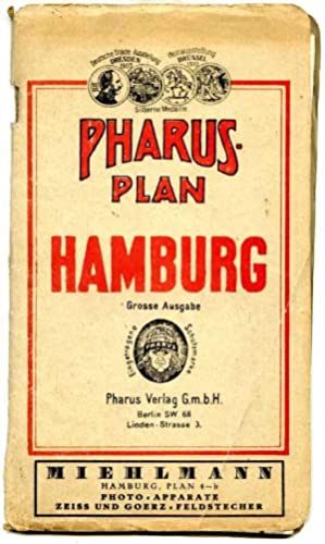 Hamburg. Grosse Ausgabe.: Pharus - Plan.