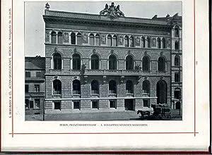 Den Deutschen Architekten gewidmet von S. Bergmann & Co., Actien-Gesellschaft. Fabrik für ...