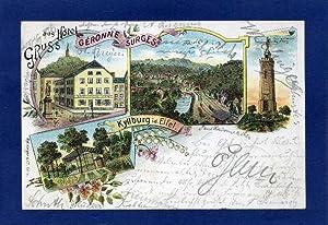 Kyllburg i.d. Eifel. 1 alte Orig.- Ansichtspostkarte.: Rheinland - Pfalz