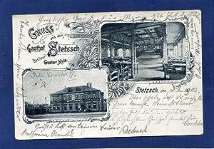 Dresden- ) Stetzsch. 1 alte Orig.- Ansichtspostkarte.: Sachsen