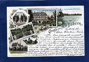 Alt-Döbern. 1 alte Orig.- Ansichtspostkarte.: Brandenburg