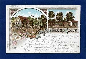 Schänkhübel - Klotzsche. 1 alte Orig.- Ansichtspostkarte.: Sachsen
