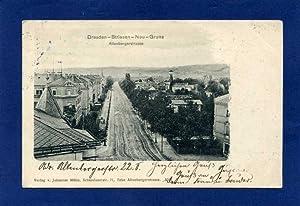 Dresden. 1 alte Orig.- Ansichtspostkarte.: Sachsen