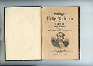 Lustiger Volks-Kalender für 1860. Mit Beiträgen von W. Achat, F. Gröpke, W. Skansini...
