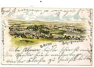 Schirgiswalde. 1 alte Orig.- Ansichtspostkarte.: Sachsen
