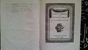 Contes Moraux et Nouvelles Idylles: Gessner, Salomon et D. ( ennis Diderot )