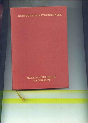 Mark Brandenburg und Berlin - Deutsche Kunstdenkmäler: Hootz, Reinhardt (