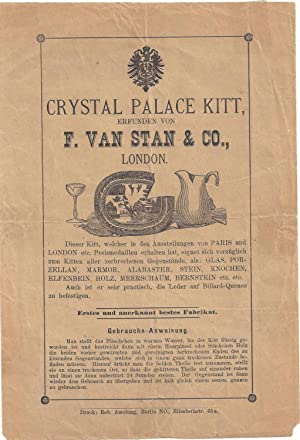 Crystal Palace Kitt, erfunden von F.van Stan & Co., London