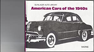 American Cars of the 1940s compiled by the Olyslager Organisation
