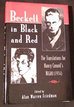 Beckett in Black and Red. The Translations for Nancy Cunard´s Negro ( 1934 )