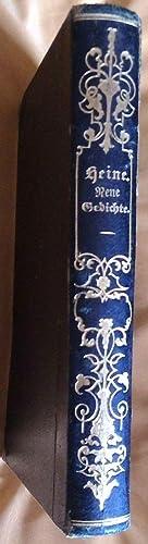 Neue Gedichte. Dritte, veränderte Auflage: Heine, Heinrich