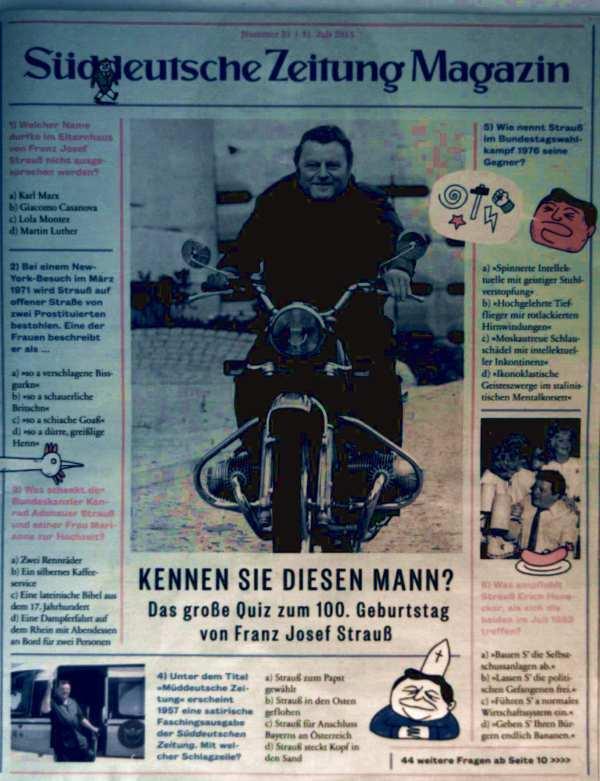 Süddeutsche Zeitung Magazin Nr. 31, 31. Juli: Süddeutsche Zeitung (Hrsg.):