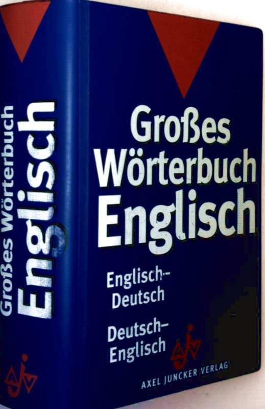 englisch deutsch worterbuch