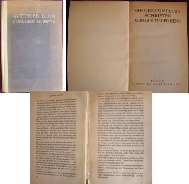 Gesammelte Schriften: Gottfried Benn: